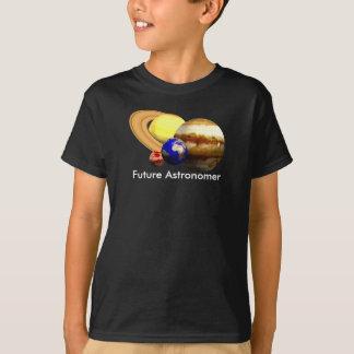 Camiseta Astrónomo futuro