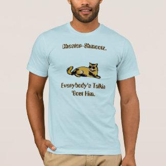 Camiseta Ataque de Chester-Shmootz.Everybody Talkin 'ele