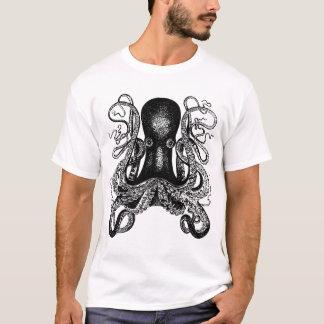 Camiseta Ataque do tentáculo! Polvo gigante Kraken