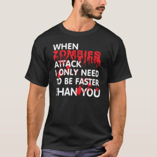 Camiseta Ataque dos zombis