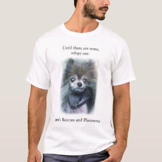 Camiseta Até que não haja nenhuns, adote um