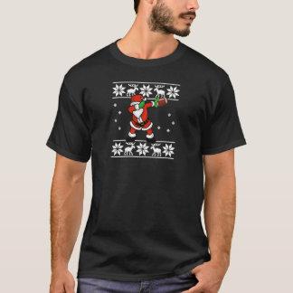 Camiseta Aterragem de toque ligeiro do futebol do Natal de
