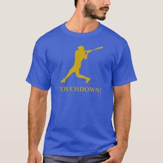 Camiseta Aterragem do basebol