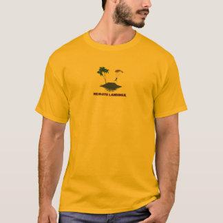 Camiseta Aterragens remotas