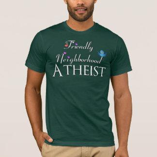 Camiseta Ateu amigável da vizinhança