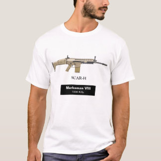 Camiseta Atirador de SCAR-H