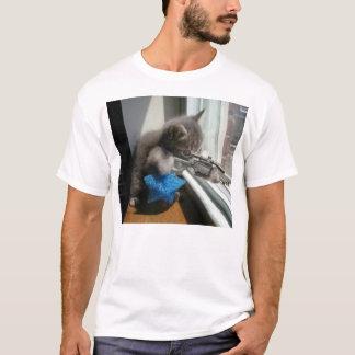 Camiseta Atirador furtivo do gatinho