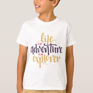 Camiseta Atitude, medo, confiança inspirador das citações
