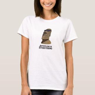 Camiseta Atitude tudo Moi anca - o t-shirt da mulher