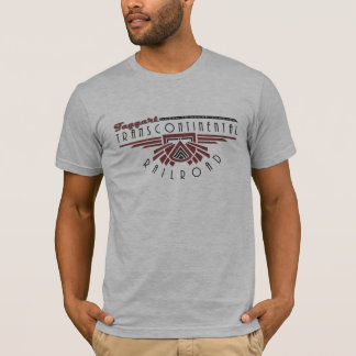 Camiseta Atlas Transcontinental da estrada de ferro de