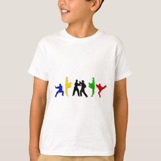 Camiseta Atleta dos homens das artes marciais do Muttahida
