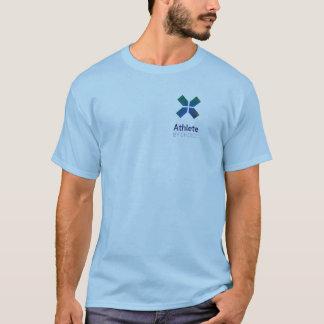 Camiseta Atleta pelo t-shirt bem escolhido do