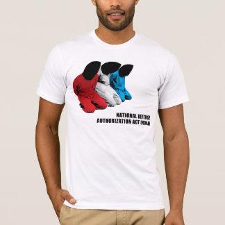 Camiseta Ato da autorização da defesa nacional de Ndaa