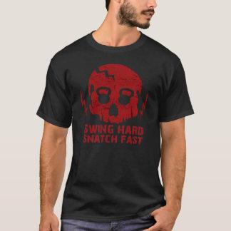 Camiseta Ato de agarrar duro do balanço rápido - Tshirt do