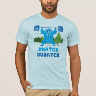 Camiseta Ato de agarrar Squatch