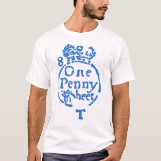 Camiseta Ato do selo - azul