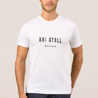 Camiseta Atol Maldives de Ari