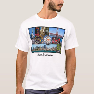 Camiseta Atrações de San Francisco