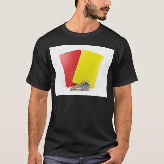 Camiseta Atributos do árbitro do futebol