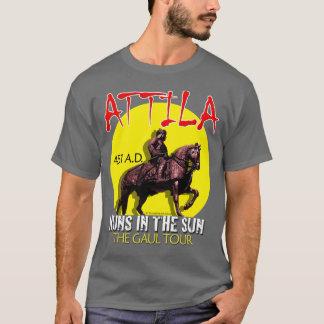 "Camiseta Attila ""hunos excursão no Sun"" (a obscuridade dos"