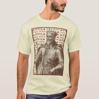 Camiseta Attila o huno - flagelo do império romano