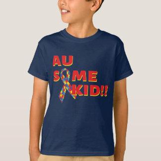 Camiseta Au algum miúdo