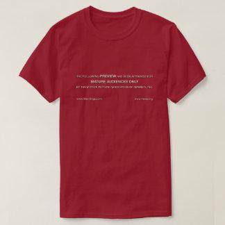 Camiseta Audiências maduras somente