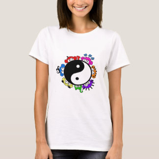 Camiseta auge de yang do yin uma vaia G.