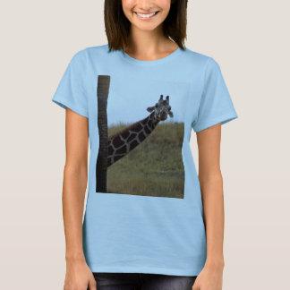 Camiseta Auge do girafa uma vaia