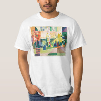 Camiseta August Macke - jardim no lago Thun