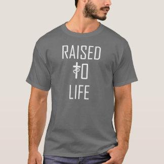 Camiseta AUMENTADO para a canção da VIDA inspirou o T