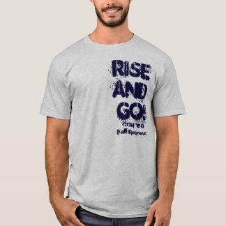 Camiseta Aumente e vá! Retirada da queda