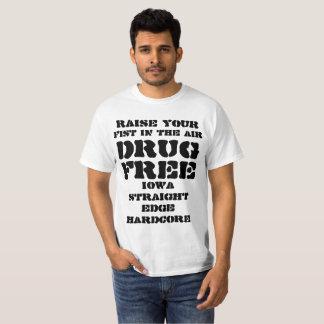 """Camiseta Aumento incondicional da borda reta de Iowa """"seu"""