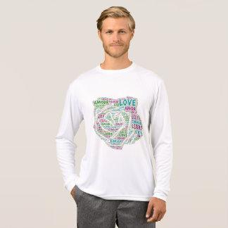 Camiseta Aumentou ilustrado com palavra do amor