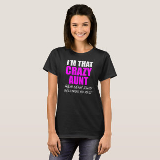 Camiseta Auntie Louco