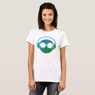 Camiseta Auscultadores Emoji