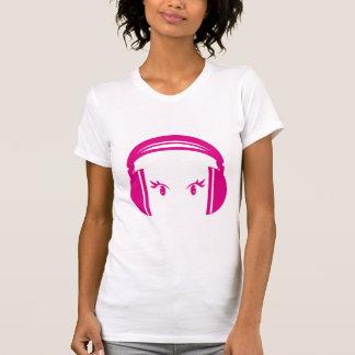 Camiseta Auscultadores & t-shirt dos olhos