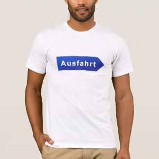 Camiseta Ausfahrt