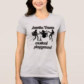 Camiseta Austin Texas --Camiseta musical do campo de jogos