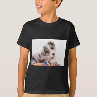Camiseta Australian shepherd puppy