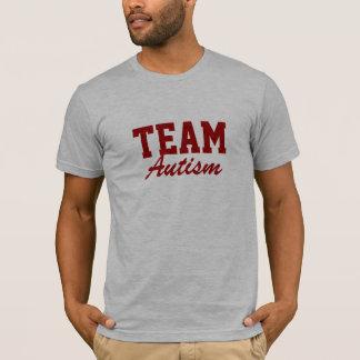 Camiseta Autismo da equipe