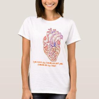 Camiseta Autismo - mãos e coração completos