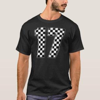 Camiseta auto competência número 17