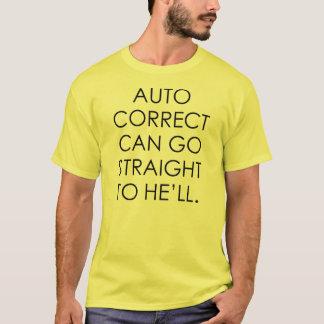 Camiseta AUTO CORRETO PODE IR HETERO que vai faz4e-lo