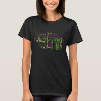 Camiseta Auto nuvem da palavra da desordem imune