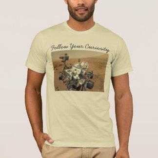 Camiseta Auto-Retrato da curiosidade de Marte