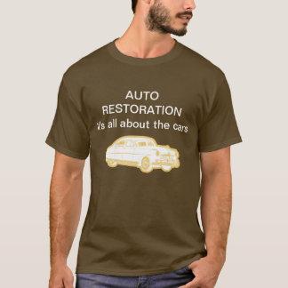 Camiseta Auto Tshirt da restauração