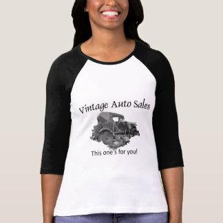 Camiseta Auto vendas do vintage