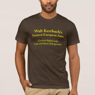 Camiseta Automóvel europeu da páscoa de Walt Kerrbach