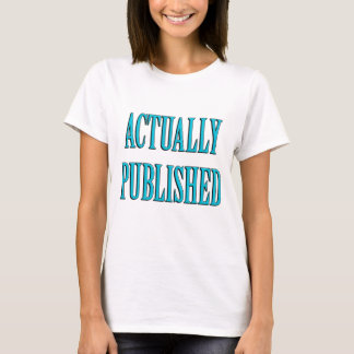 Camiseta Autor publicado